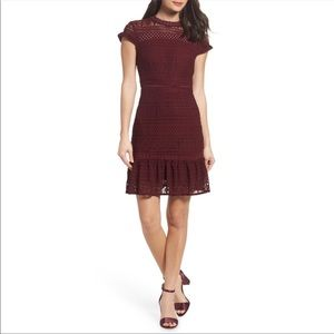 Foxiedox Anthropologie Fit and Flare Dress